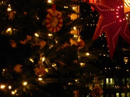 Weihnachtliche Stimmung.