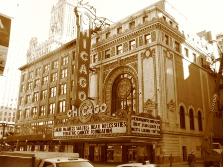 Chicago Theater in September 2007