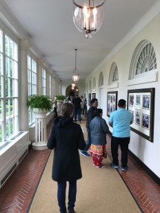 Corridor between East Wing and White House