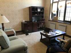 My (Condor) office/ Mein Büro, Condor HQ central Asia :)