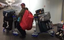 Travel craziness/ Reise von T1 nach T2
