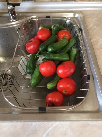Fresh produce/ frisches Gemüse