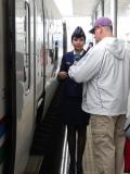 Friendly conductor/freundliche Zugbegleiter