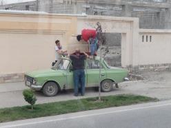 UHaul Uzbek style