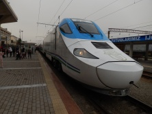 High Speed Rail in Uzbekistan.