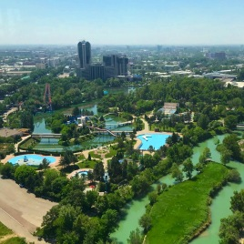 Tashkent, view from TV Tower