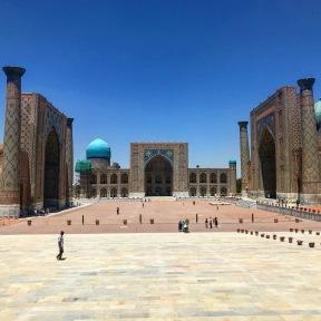 Samarkand - Registan