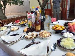 Uzbek dinner